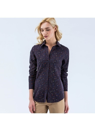 Lacoste Kadın  Gömlek CF9584.R3W Lacivert